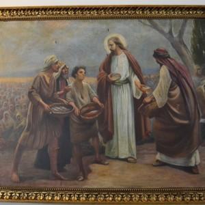 Obraz Ježíš sytí zástupy