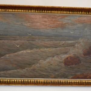 Obraz s mořem sign.Tofanov