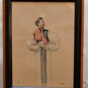 Obraz, akvarel, signováno