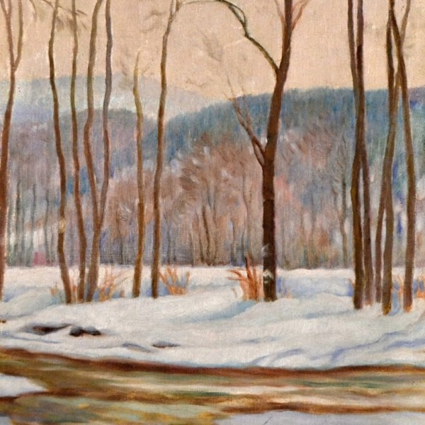 Obraz zimní krajiny