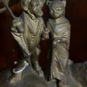 Umělecká litina-Pejsek a Kočička