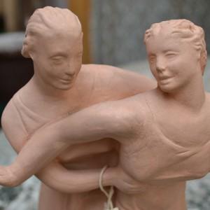 Soška tanečního páru