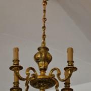 Neobarokní romantický lustr