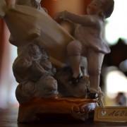 Žánrová soška z biskvitu LETÁNÍ