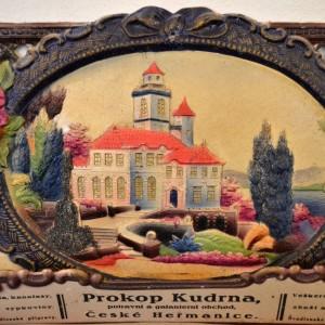 Dekorativní dobové cedule Prokop Kudrna