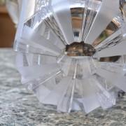 Broušená váza s věnováním Chrudim