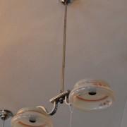 Praktický RETRO dvou-ramenný lustr