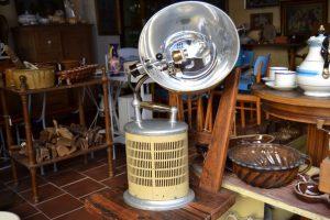 Historická industriální svítilna-horské sluníčko