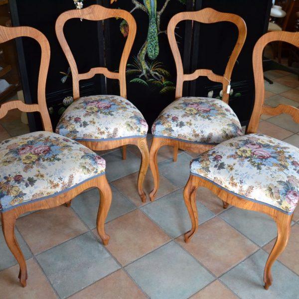 Měšťanské 4 jídelní židle