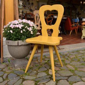 Starožitná selská židle