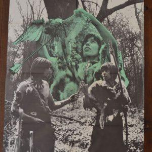 Starý plakát Osada Havranů