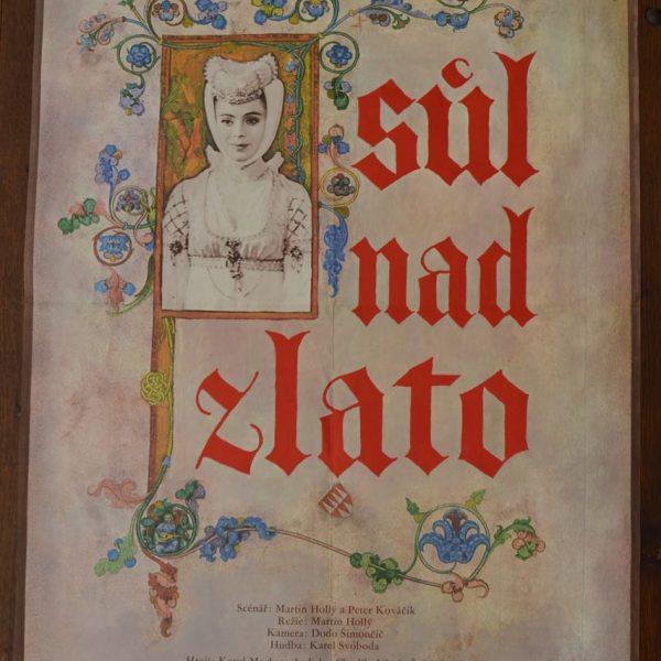 Starý plakát Sůl nad zlato