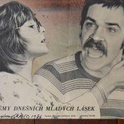 Starý plakát Hosteska