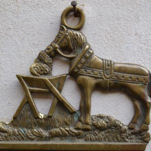 Starožitný hřeben na česání koní