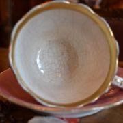 Dva větší porcelánové šálky s talířky