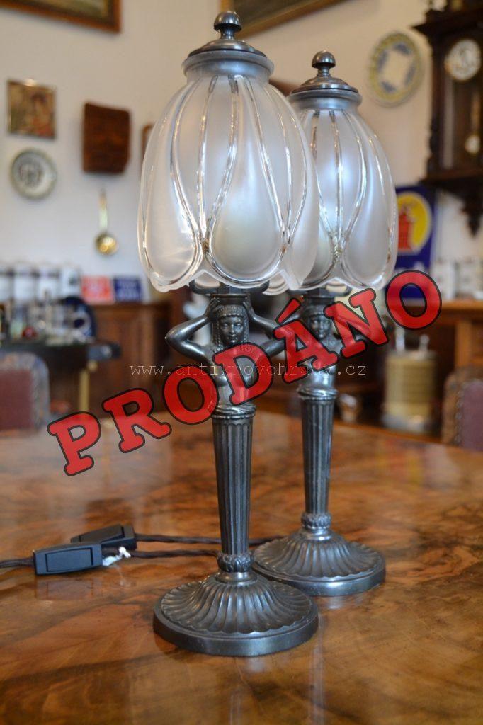 Starožitné lampičky
