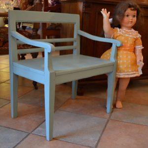 Starožitná dětská lavička