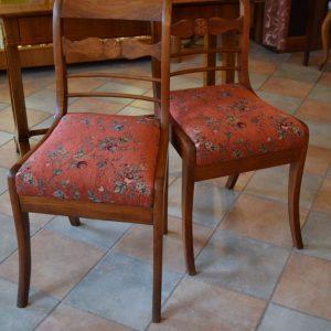 Starožitné židle pár