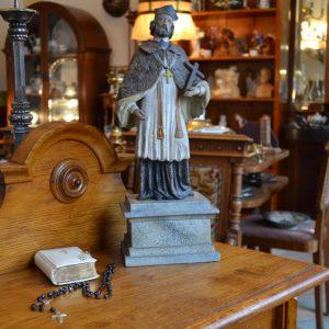 Starožitná soška sv. Jana Nepomuckého