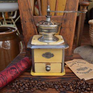 Starožitný mlýnek na kávu LEINBROCK IDEAL