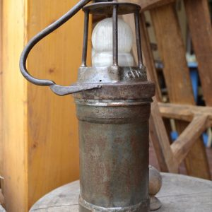 Starožitná hornická lampa