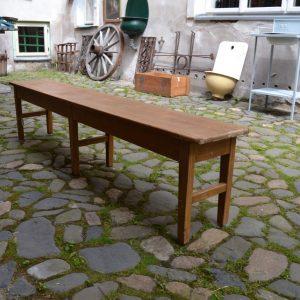 Dětská starožitná lavička