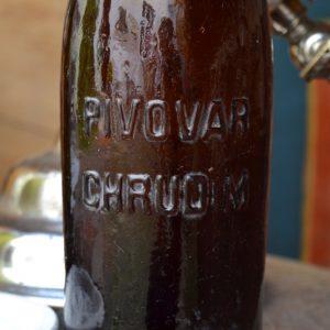 Stará pivní láhev PIVOVAR CHRUDIM