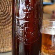 Stará pivní láhev LANDSKRON