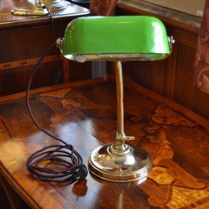 Starožitná lampička Franta Anýž