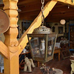 Prvorepubliková starožitná lucerna