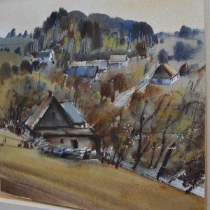 Obraz podzim na Vysočině Jan Odvárka