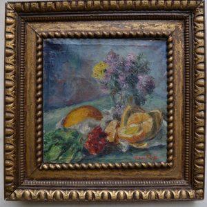 Starožitná obraz, malíř Havrlík