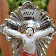 Starožitný křížek s Kristem