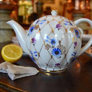 Čajový starožitný servis