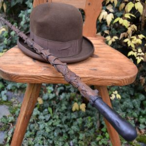 Starožitná hůlka v loveckém duchu