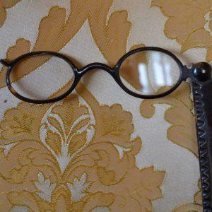 Starožitný lorňon - módní dámské brýle