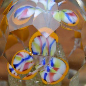 Starožitné těžítko ze skla