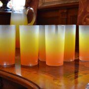 Retro sada džbán 1,7l a šest sklenic