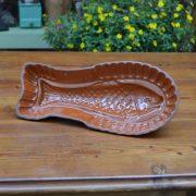 Starožitná pečící forma ve tvaru ryby