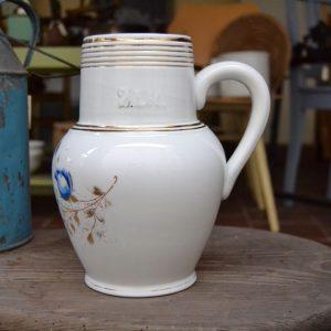 Porcelánový malovaný starožitný džbán