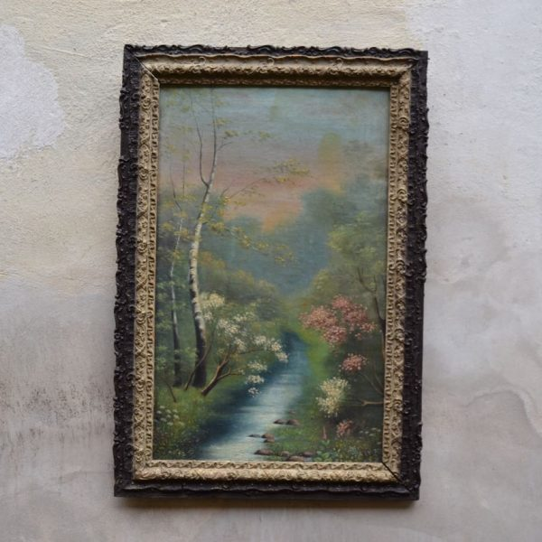 Starožitný menší obraz