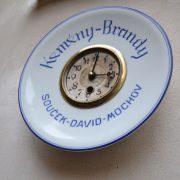 Talířové starožitné hodiny - brandy