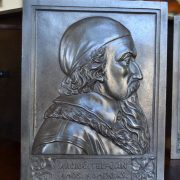 Starožitné reliéfy Komenský a Borovský