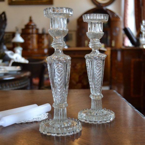 Staré párové svícny