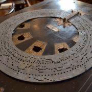 Starožitný diskový větší flašinet zn. PHOENIX