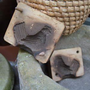 Starožitná velikonoční perníková forma - SLEPIČKA