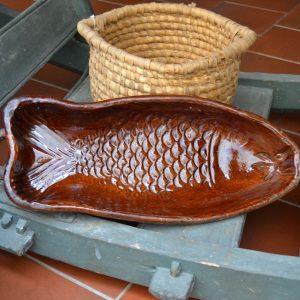 Starožitná forma ve tvaru ryby