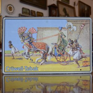 Stará reklamní cedule CRÜWELL - TABAK