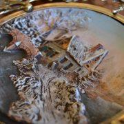 Starožitné dekorativní talíře