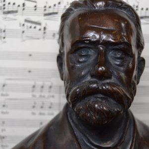 Starožitná busta Bedřich Smetana